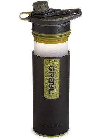 gourde avec filtre à eau intégré Grayl