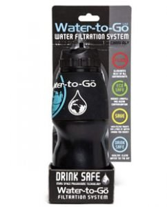gourde filtrante water to go