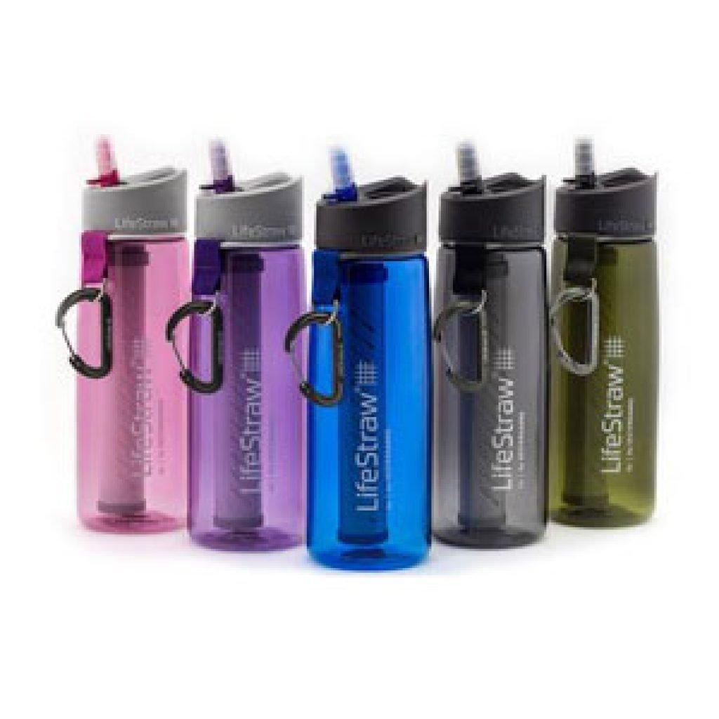 Les gourdes filtrantes au charbon actif Lifestraw Go 2 - Disponible en 5 coloris