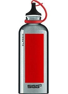 Gourde Sigg Classic Accent - Aluminium rouge - 600ml