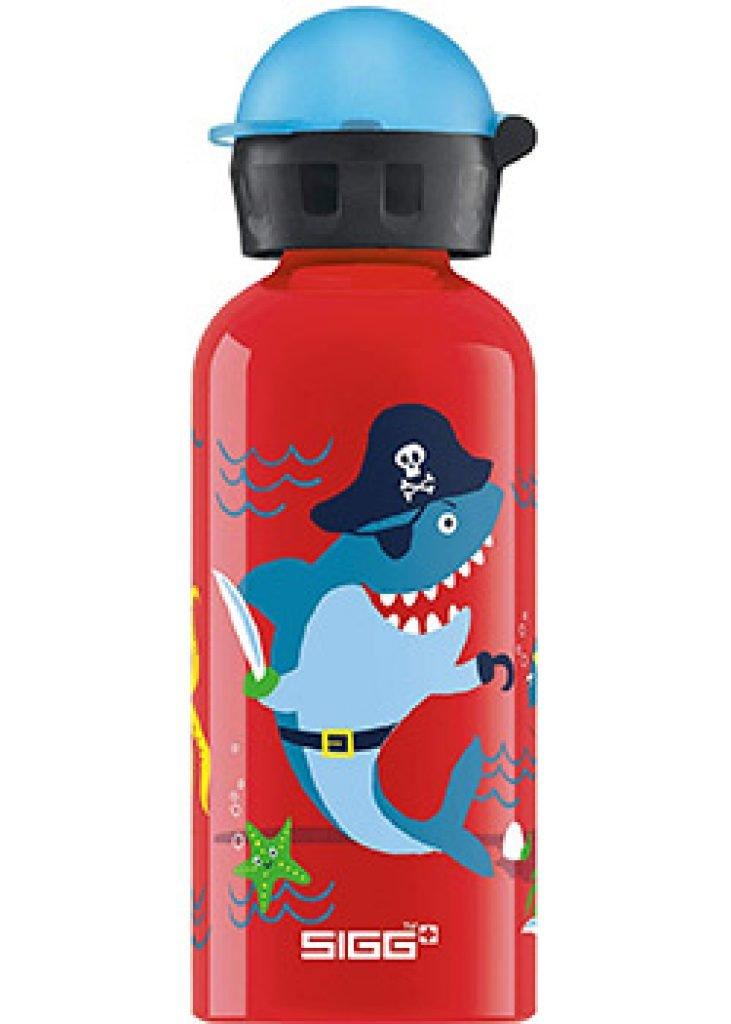 Les gourdes Sigg : En alu, en inox, en verre, pour adultes et pour enfants.