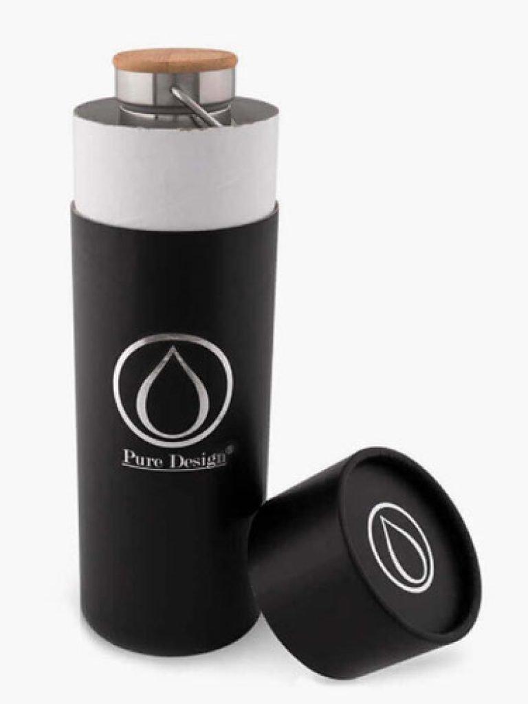 Bouteille isotherme design boite cadeau