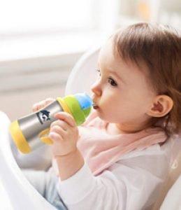 mini gourde biberon bébé évolutive