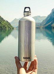Bouteille en aluminium Sigg Traveller 1 litre