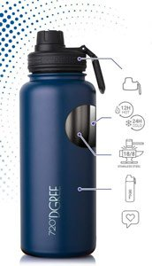 Gourde isotherme thermos 720 dgree
