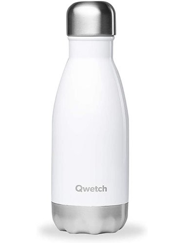 Gourde inox isotherme 250 ml Qwetch