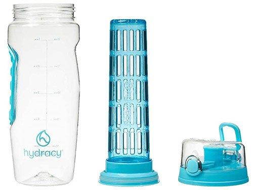 bouteille à infusion en plastique sans bpa