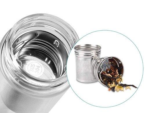 filtre infuseur à thé en inox